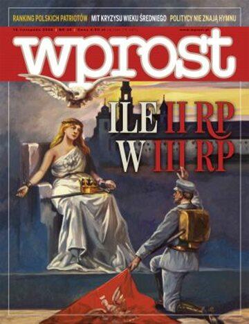 Okładka tygodnika Wprost nr 46/2008 (1351)