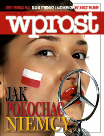 Okładka tygodnika Wprost nr 10/2008 (1315)
