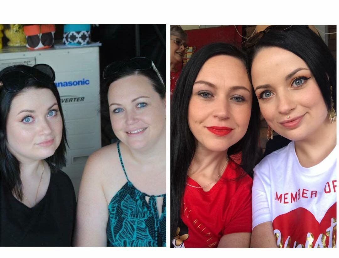 Sarah Grosvenor przed i po metamorfozie