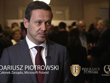 Banking Forum & Insurance Forum: Dariusz Piotrowski