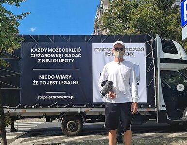 Gonciarz ma dość ciężarówek anty-LGBT. Na ulice Warszawy wyjechała jego...