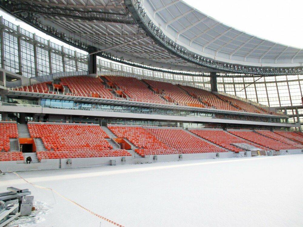 Stadion w Jekaterynburgu