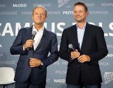 """Trzaskowski wraca do gry. """"Tusk zjadł kolacyjkę, przespał się i..."""