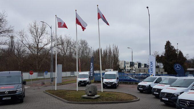 Poczta Polska _ testy aut elektrycznych o ładowności do 800 kg (0)