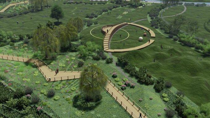 Niepołomickie błonia, czyli nowe miejsce dorekreacji iwypoczynku, powstaną dzięki rewitalizacji terenu opowierzchni ponad 5 ha wbliskim sąsiedztwie zamku królewskiego