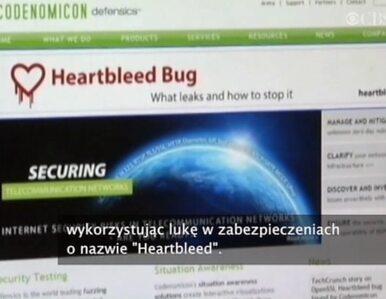 """Luka """"Heartbleed"""". Pierwsze aresztowanie"""