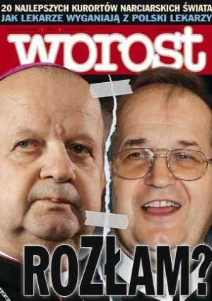 Okładka tygodnika Wprost nr 3/2006 (1206)