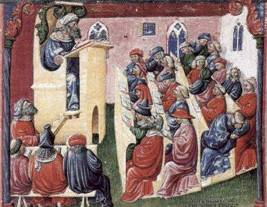 Pierwsze europejskie uniwersytety były niezwykle popularne. Jak...