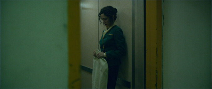 "Snežana Vidović wfilmie ""Death inSarajevo"""