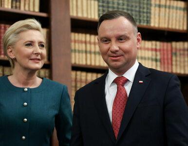 """Opublikowano niezwykłe zdjęcia pary prezydenckiej. """"Andrzej Duda..."""