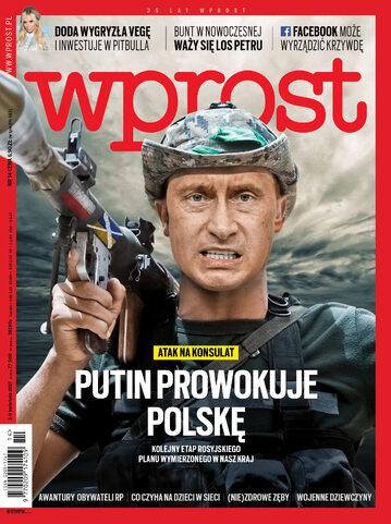 Okładka tygodnika Wprost nr 14/2017 (1781)