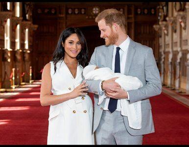 Harry i Meghan świętują urodziny syna nowym zdjęciem. Tymczasem rodzina...