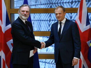 Tusk: Nie ma czegoś takiego jak rachunek za Brexit czy kara za wyjście
