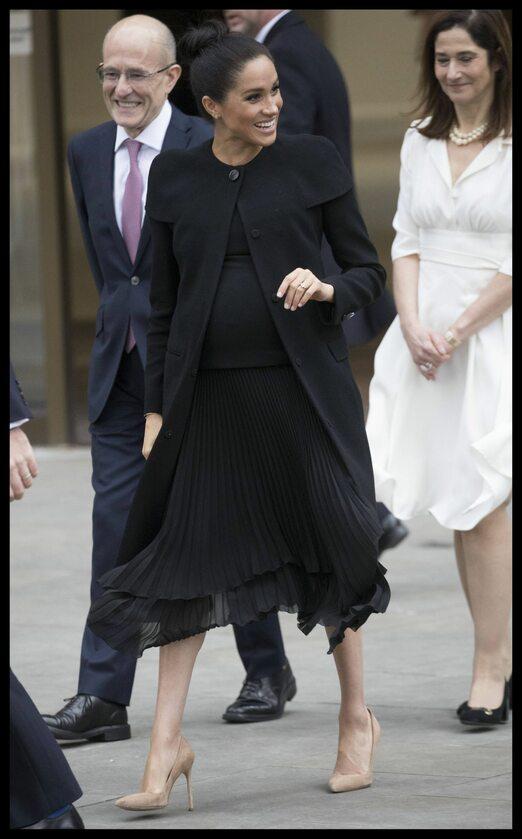 Księżna Meghan w Londynie