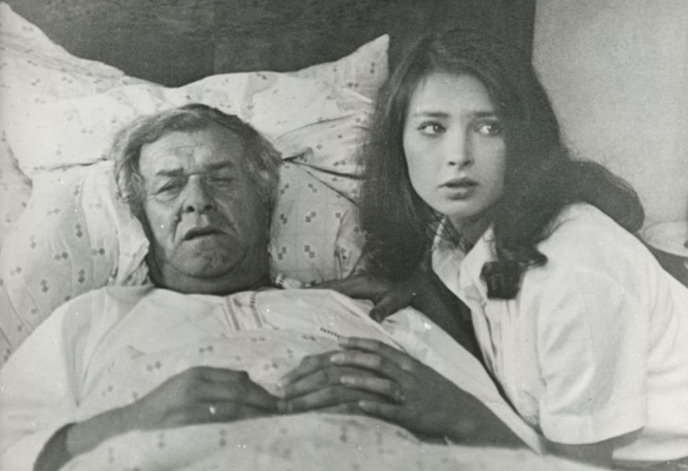 """Anna Dymna i Wacław Kowalski w filmie """"Nie ma mocnych"""" (1974)"""