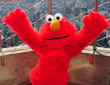 """Elmo z """"Ulicy Sezamkowej"""" musi zmienić glos"""