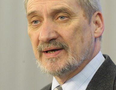 Macierewicz: Pomysł SLD to próba podporządkowania Polski Rosji