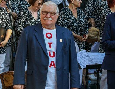 """Lech Wałęsa """"napadnięty przez ludzi rozdających ulotki PiS"""""""