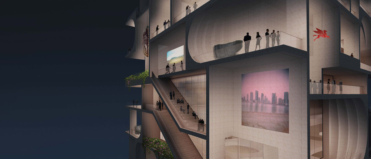 Muzeum Sztuki w Bejrucie Muzeum Sztuki w Bejrucie autorstwa WORKac