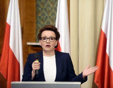 Wniosek opozycji odrzucony. Zalewska zostaje na stanowisku
