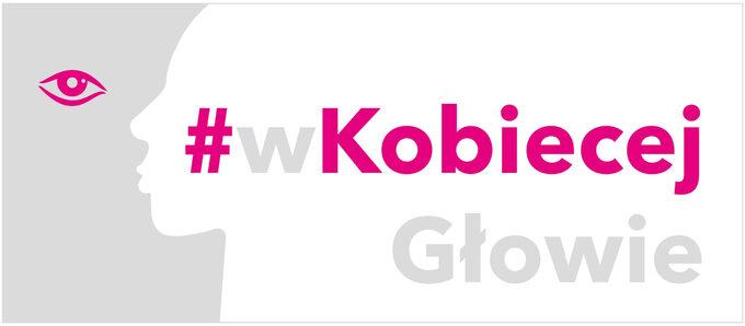 logotyp kampanii #wKobiecejGłowie