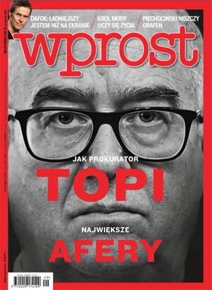 Okładka tygodnika Wprost nr 29/2015 (1688)