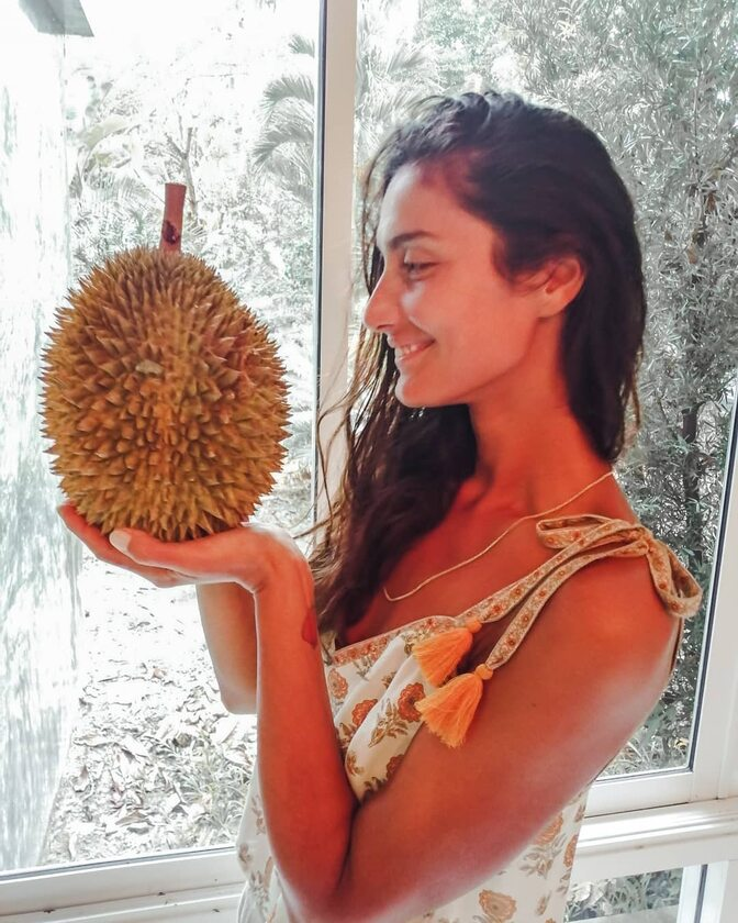 Alice Copilet - promotorka frutarianizmu