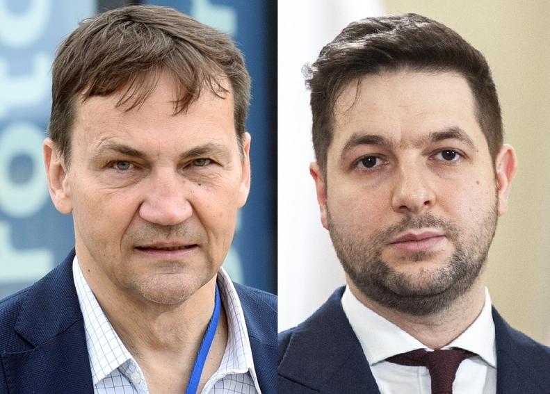 """Radosław Sikorski starł się z Patrykiem Jakim. Pisze o """"kłamstwie"""" i..."""