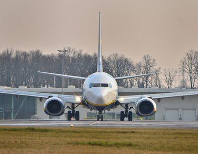 Niebezpieczny incydent na lotnisku. Samolot staranował lawetę z...