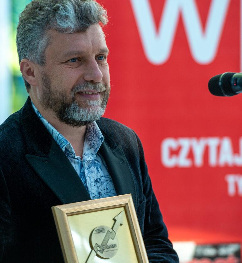 Prezes Inphotech dr hab. inż. Tomasz Nasiłowski