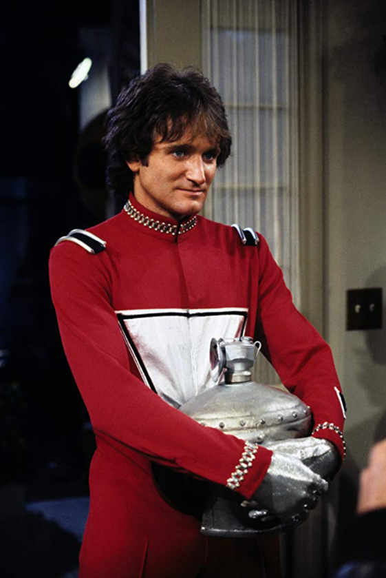 "Robin Williams w ""Mork & Mindy""  (1978)"