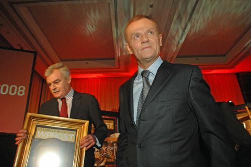 Człowiek Roku 2008 - Donald Tusk oraz Marek Król