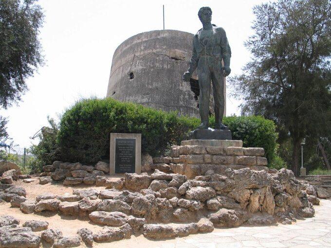 Pomnik Mordechaja Anielewicza wkibucu Jad Mordechaj