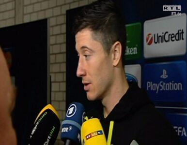 Lewandowski: Zagraliśmy znakomicie, możemy być dumni