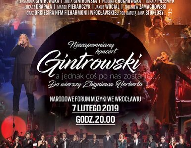 Gwiazdy zaśpiewają Gintrowskiego i Herberta