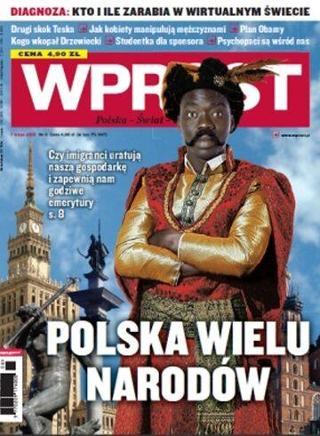 Okładka tygodnika Wprost nr 6/2010 (1410)