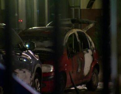 Wjechał na teren Radia Maryja i podpalił swój samochód. 37-latek...