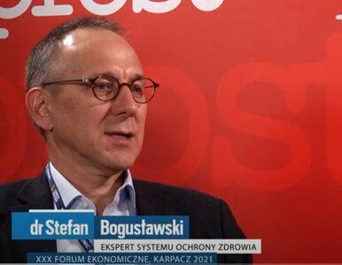Dr Bogusławski: Jakość w ochronie zdrowia trudno mierzyć. Jest szereg...