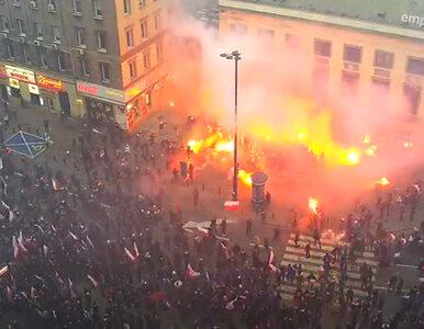 MSWiA opublikowało zapis monitoringu z Marszu Niepodległości....