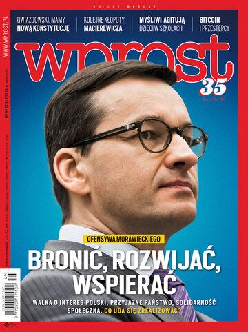 Okładka tygodnika Wprost nr 49/2017 (1814)