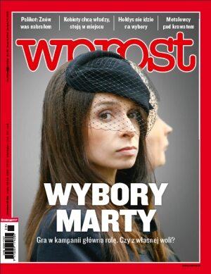 Okładka tygodnika Wprost nr 25/2010 (1428)