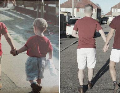 Odtworzyli swoje zdjęcia z dzieciństwa. Chcieli pokazać, jak zmieniali...