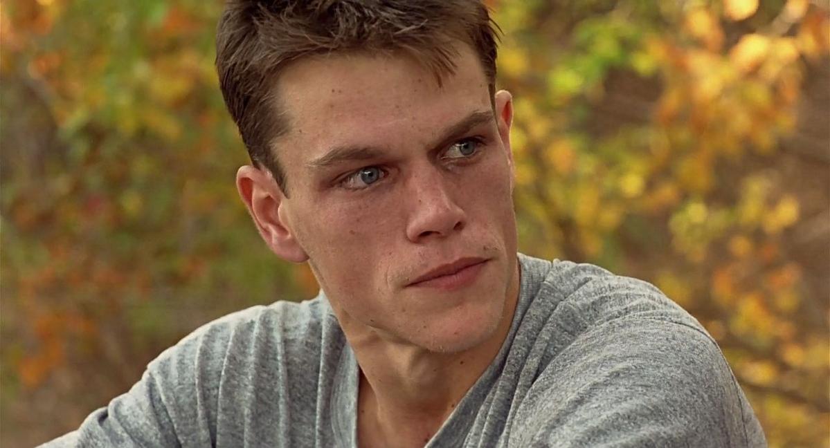 """Matt Damon w filmie """"Szalona odwaga"""" (1996)"""