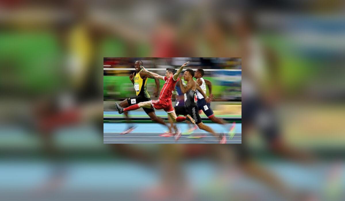 Robert Lewandowski sprinter