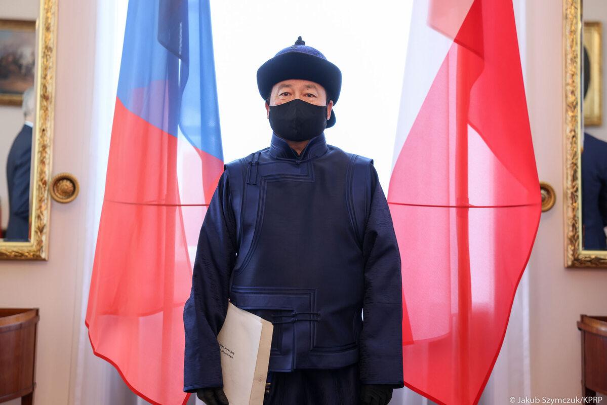Ambasador Mongolii w RP