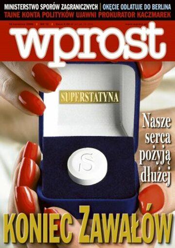 Okładka tygodnika Wprost nr 15/2006 (1218)