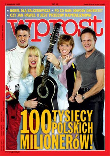 Okładka tygodnika Wprost nr 35/2002 (1031)