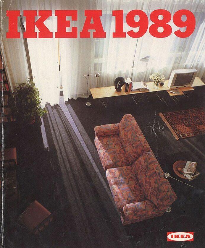 Okładka katalogu IKEA z 1989 roku