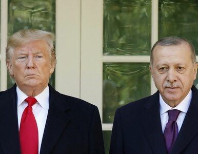 """Trump przyznał, że jest """"wielkim fanem"""" Erdogana. """"Wykonujesz..."""