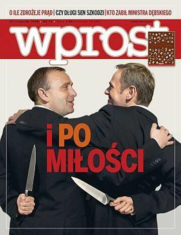 Okładka tygodnika Wprost nr 48/2008 (1353)
